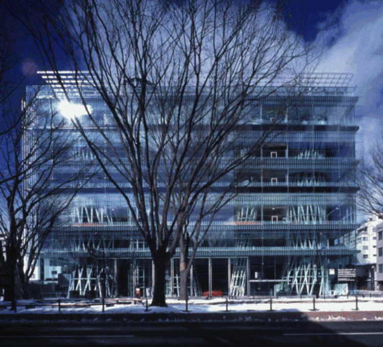 AD Classics: Sendai Mediatheque / Toyo Ito & Associates, Courtesy of RIBA