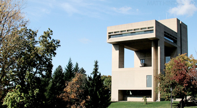 AD Classics: Herbert F. Johnson Museum of Art, Cornell University / I.M. Pei, Courtesy of Cornell University
