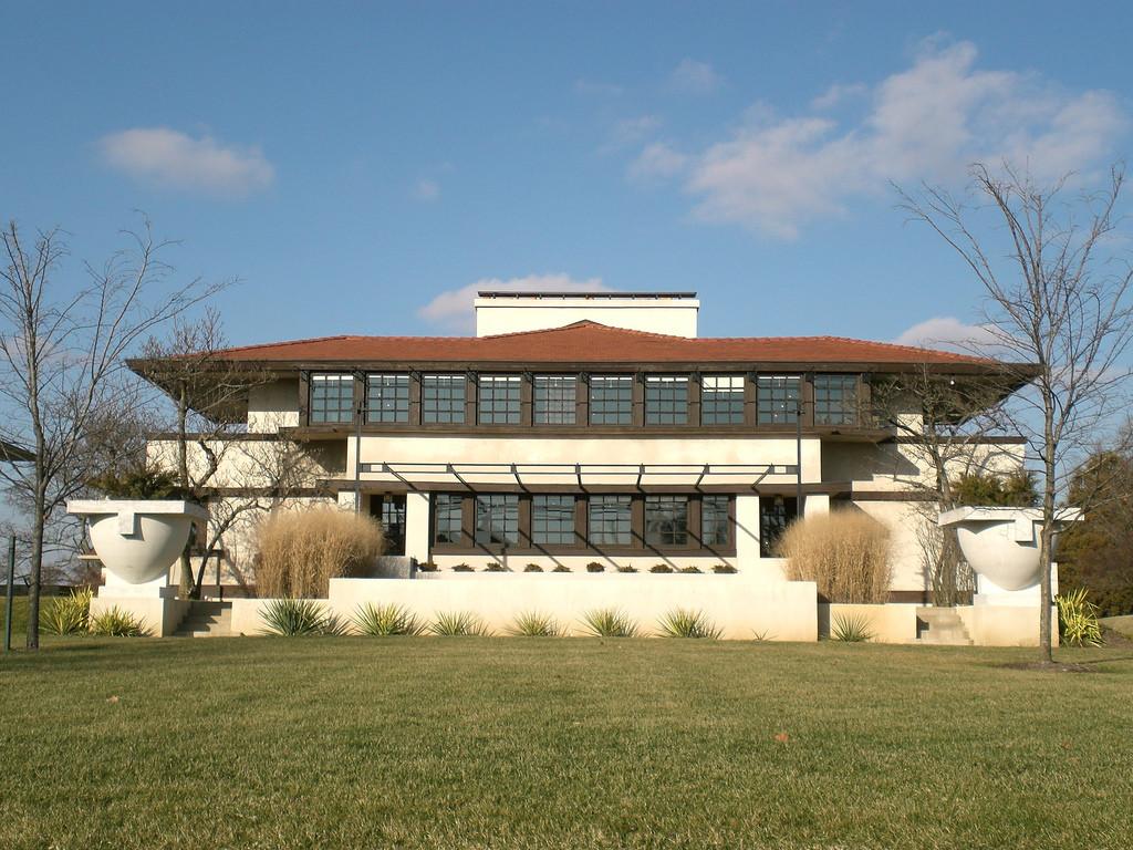 Ad Classics Westcott House Frank Lloyd Wright Archdaily