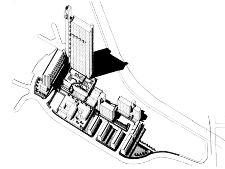 Site Axonometric