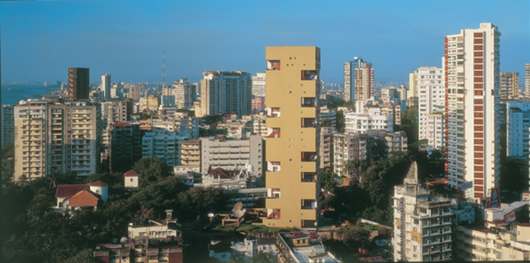 AD Classics: Kanchanjunga Apartments / Charles Correa, Courtesy of Charles Correa