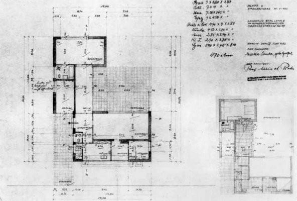 Gallery Of Ad Classics Landhaus Lemke Mies Van Der Rohe