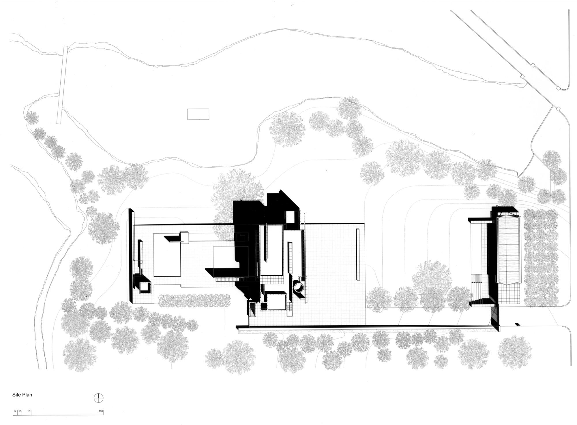 Gallery Of Ad Classics Rachofsky House Richard Meier