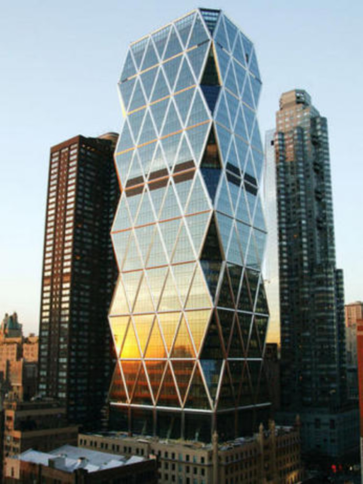 Flashback: Hearst Tower / Foster + Partners, © Chuck Choi