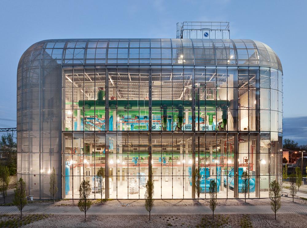 University of Chicago – South Campus Chiller Plant / Murphy Jahn, © Rainer Viertlboeck