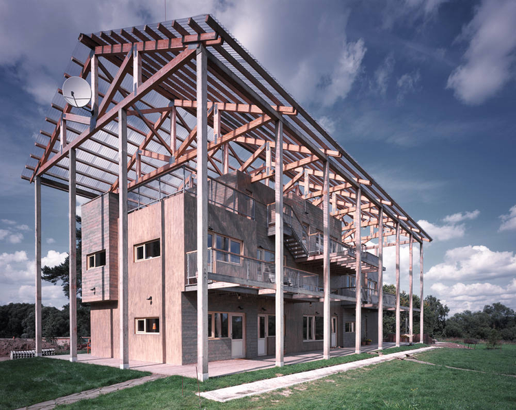 House in Tarussa / Bureau Alexander Brodsky, © Yuri PALMIN