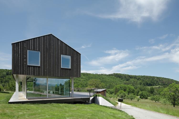 House D / HHF Architects, © Tom Bisig