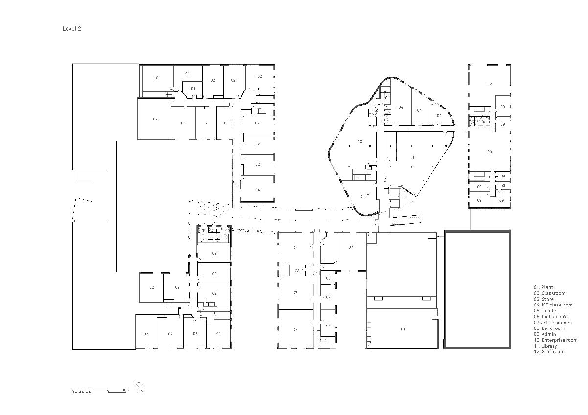 Gallery of St Johns School Marlborough ReFormat LLP 12 – Marlborough House Floor Plan