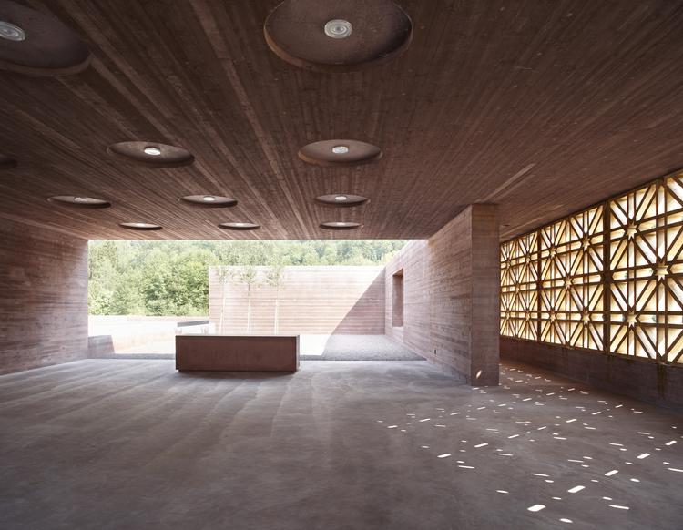 Islamic Cemetery in Altach / Bernardo Bader Architekten, © Adolf Bereuter