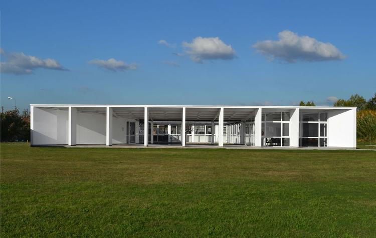 Edificio de Instituto de Epidemiología - Leonardo Werthein  / Moscato Schere Todo Terreno + MS+ DPF UNLa, © Agustin Moscato- Manuel Ciarlotti