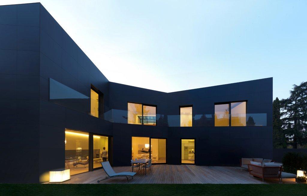 Progetti Esterni Villette : Progetti esterni di case moderne latest progetti esterni di case