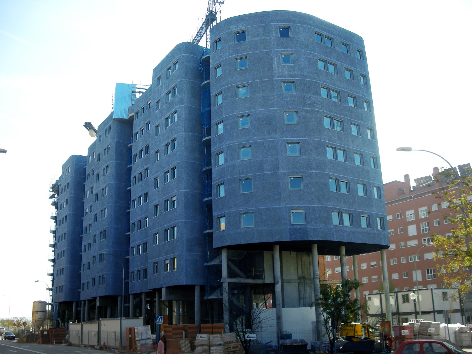 In Progress: Vallecas Housing / CRAB Studio, Courtesy of CRAB Studio