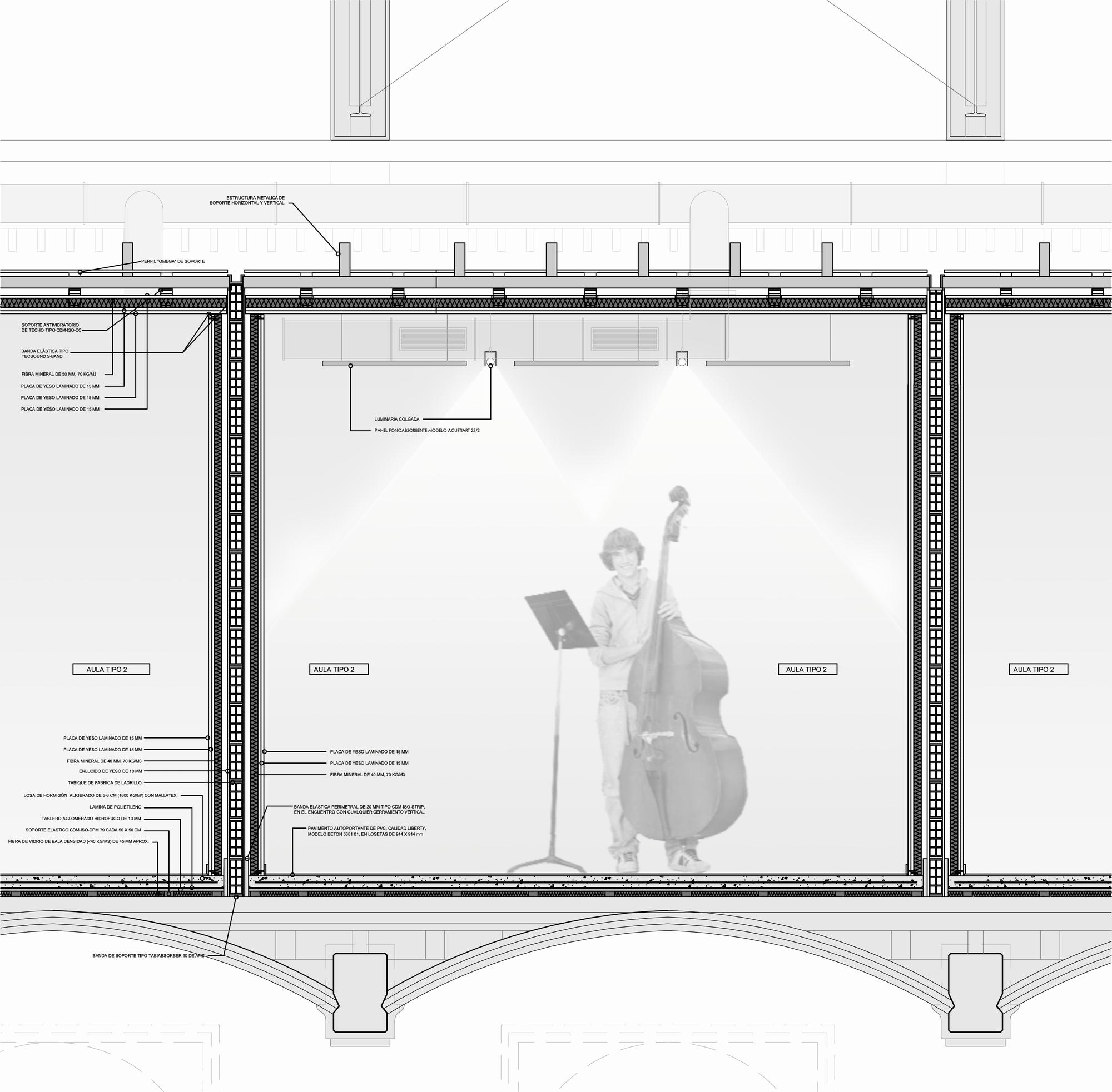 "Music School Project Concept  ""Taller De Musics"" / Dom Arquitectura"