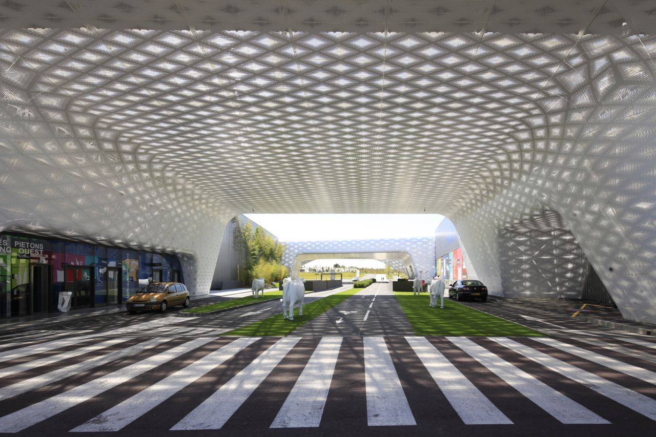 Gallery of l 39 atoll angers antonio virga architecte aavp architecture 2 - Atoll angers magasin ...