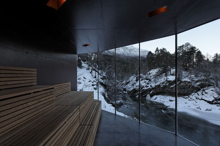 River Sauna / Jensen & Skodvin Architects, Courtesy of Jensen & Skodvin Architects