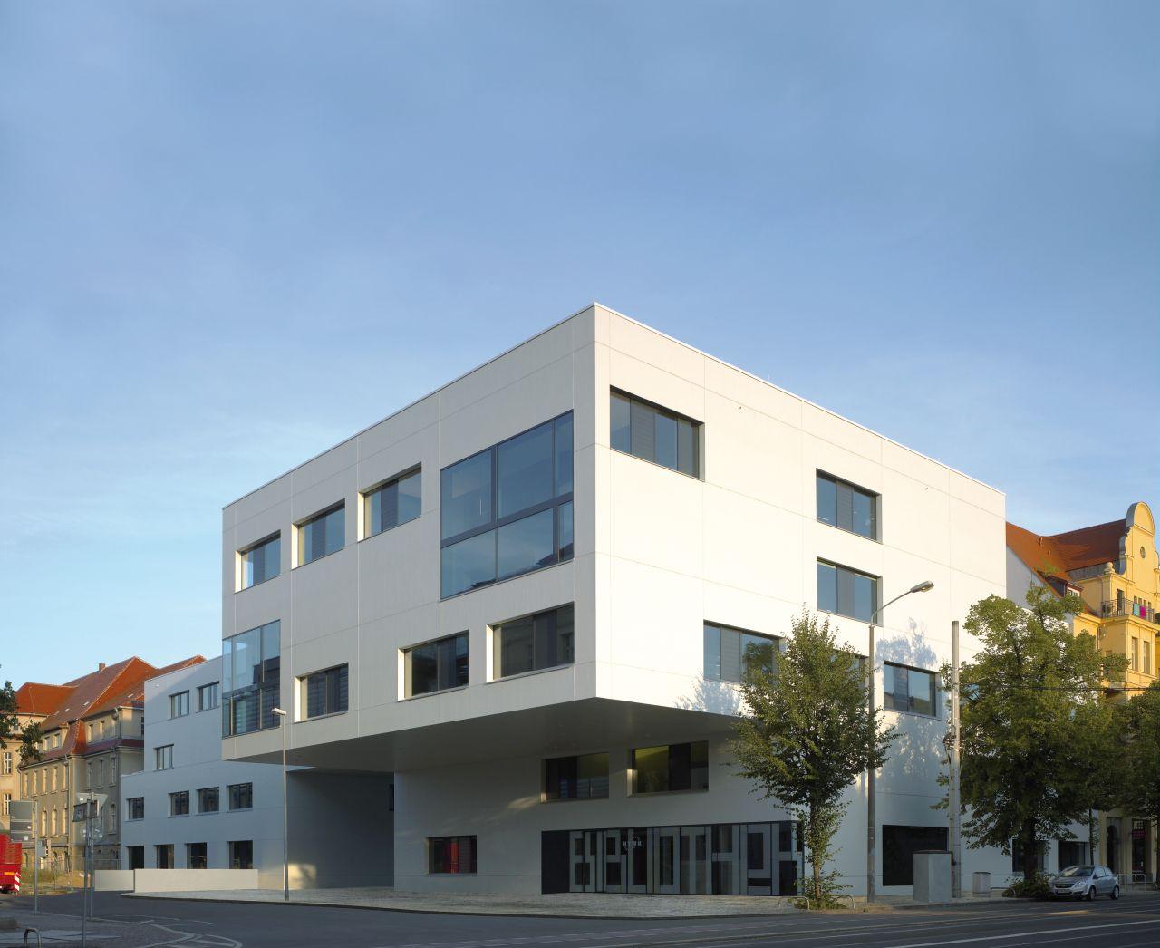Library and media centre / Léon Wohlhage Wernik Architekten, © Christian Richters