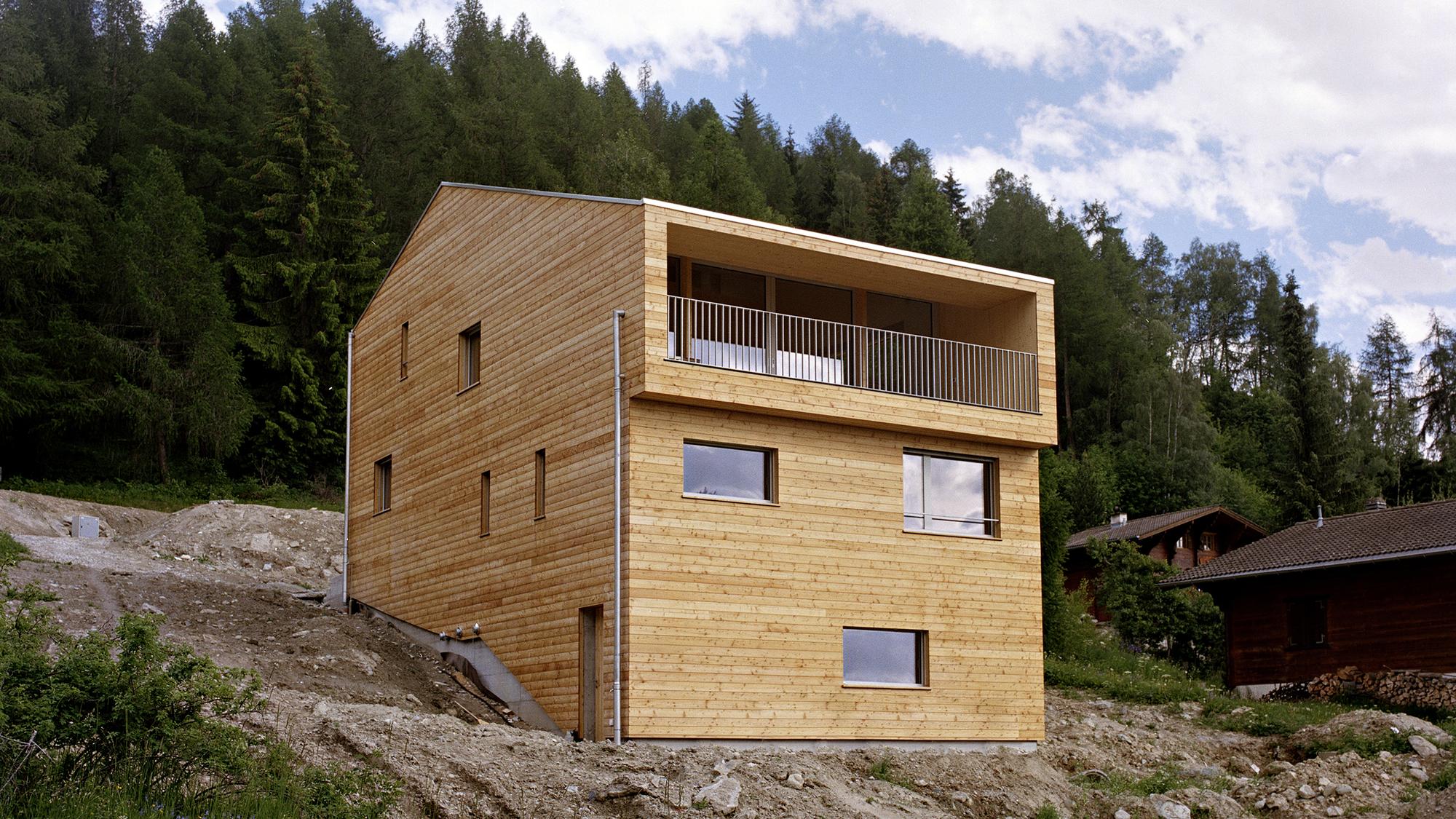 Alt 1374 - Nax / Lx1 Architecture, © Luca da Campo / Strates