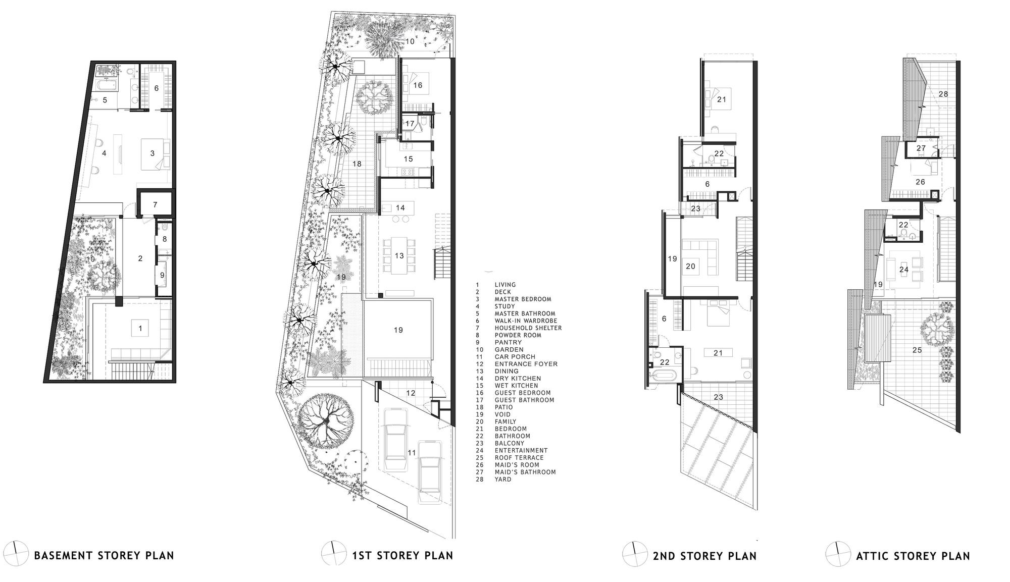 house plans by architects gallery of armadillo house formwerkz architects 14 18497