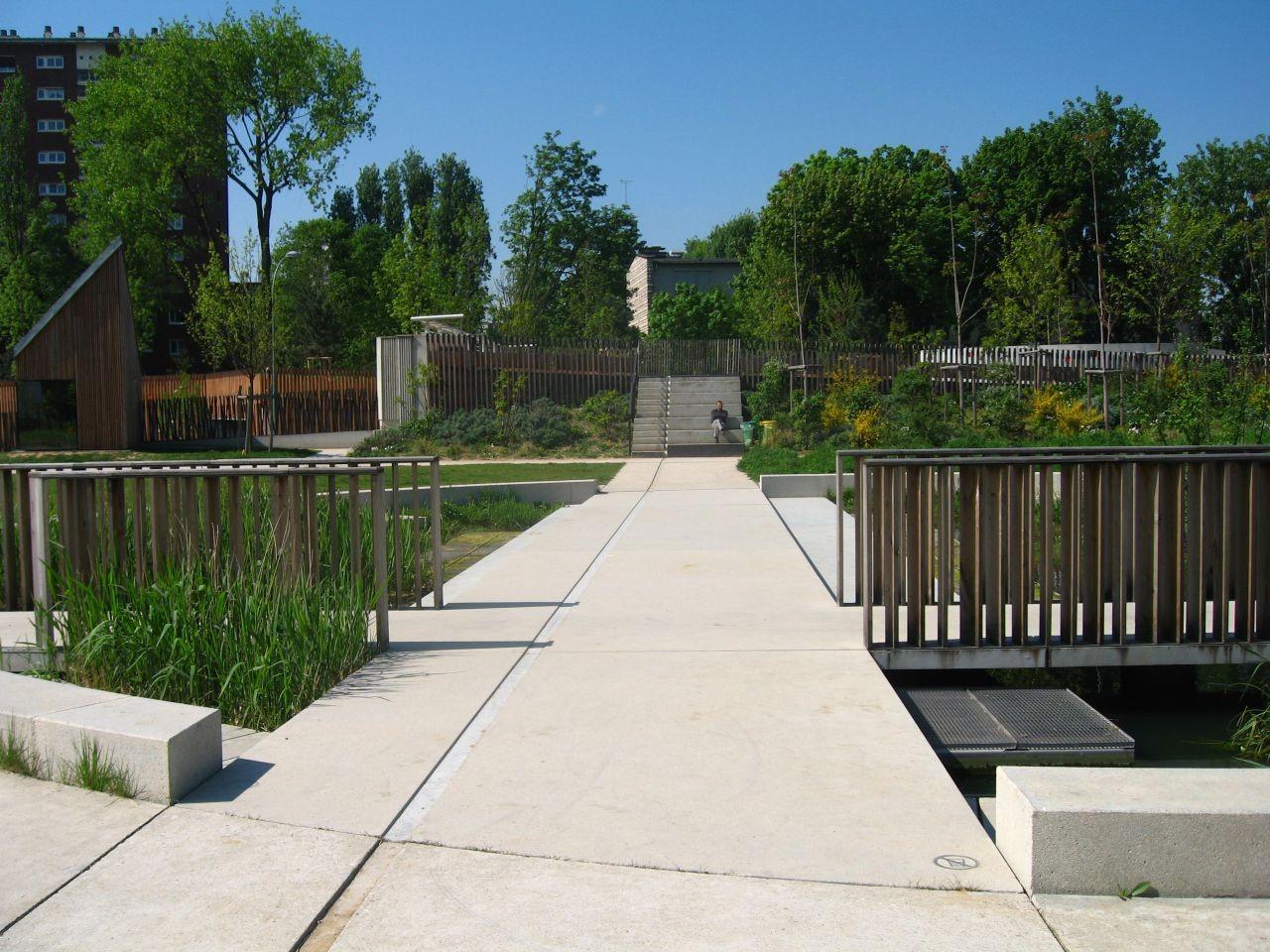 Jardin Serge Gainsbourg / Matthieu Gelin & David Lafon Architecte, © Nicolas Waltefaugle