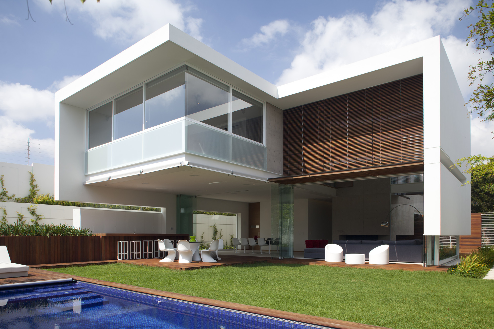 Gallery of ff house hernandez silva arquitectos 10 for Progetti di interni case moderne