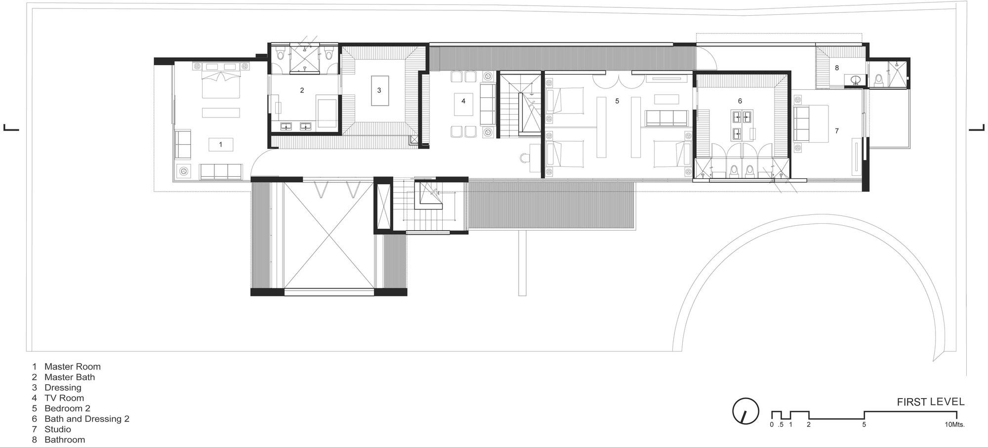gallery of ff house hernandez silva arquitectos 30