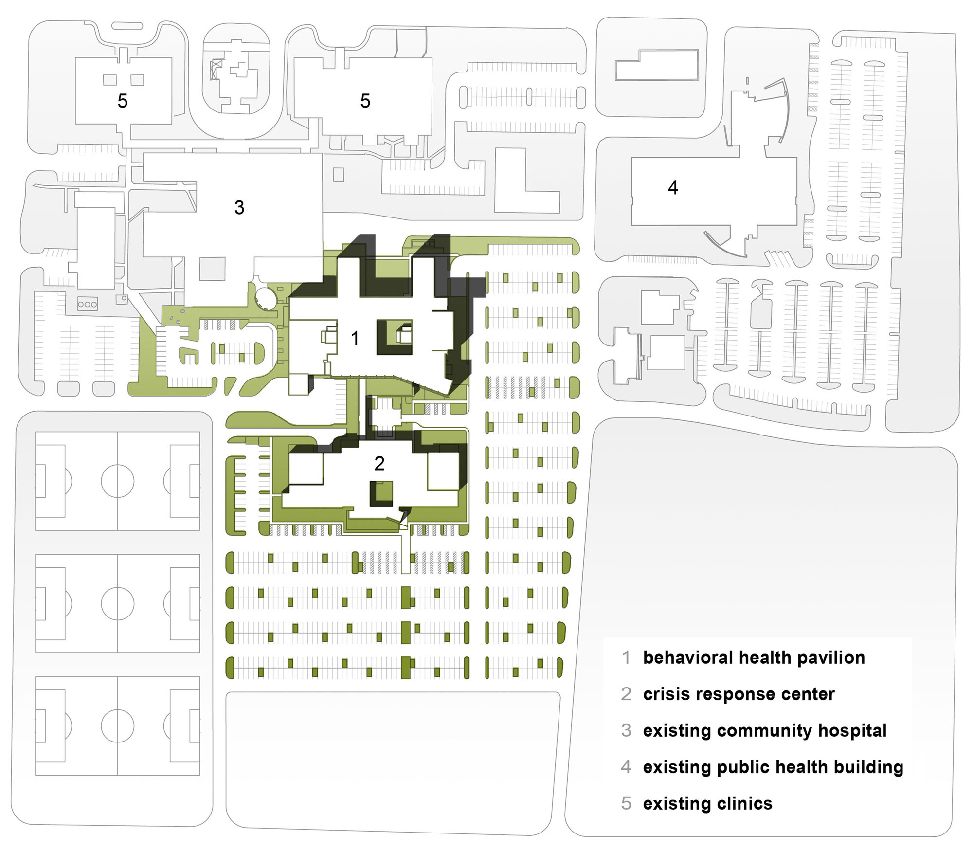 King Of The Hill House Floor Plan Gallery Of University Of Arizona Medical Center South