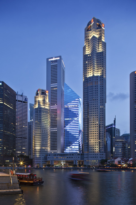 One Raffles Place Tower 2 / Tange Associates   ArchDaily
