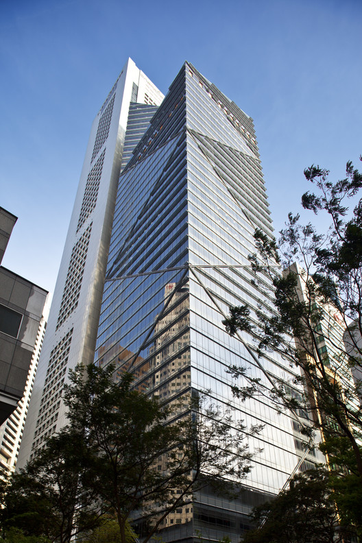 One Raffles Place Tower 2 / Tange Associates