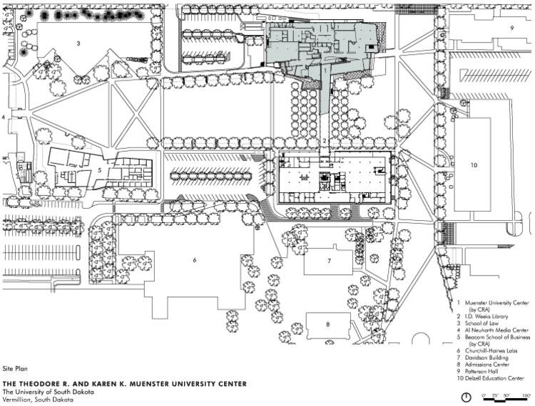 Muenster University Center / Charles Rose Architects Inc