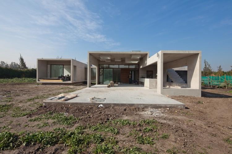 En Construcción: Casa Stacchetti / Chauriye & Simpson Arquitectos, © Juan Eduardo Sepúlveda