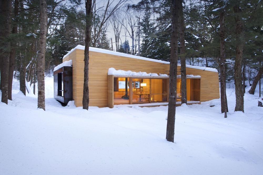 La Luge / YH2 Architecture, © Francis Pelletier