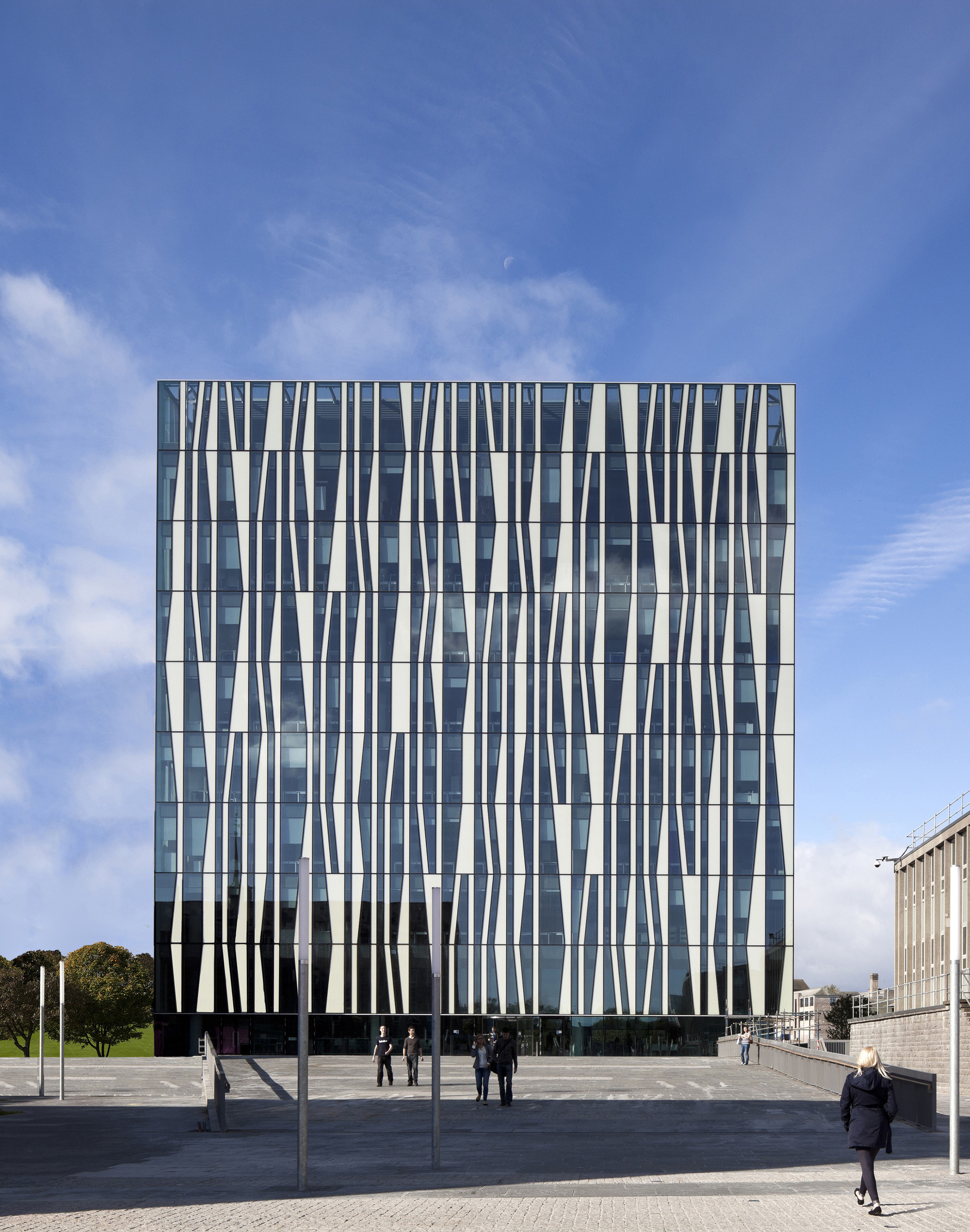 University of aberdeen new library schmidt hammer lassen for U of a architecture building