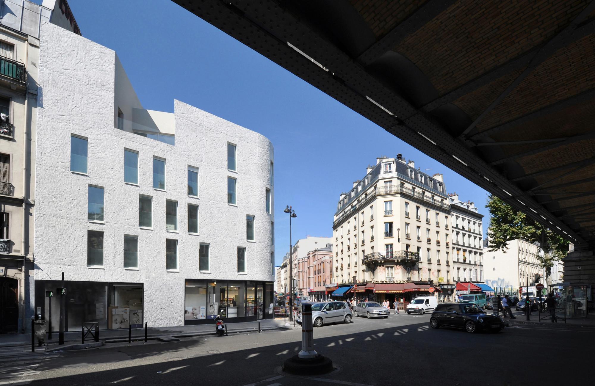 Social Housing in Paris / Bigoni Mortemard Architects, © Bigoni Mortemard Architects