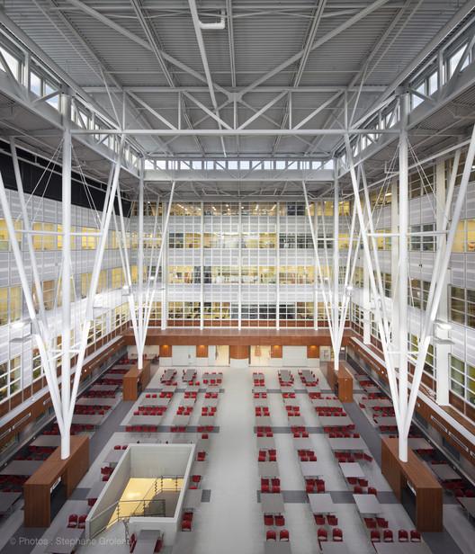 Alexandre Vachon Pavillon / STGM Architectes , © Stéphane Groleau