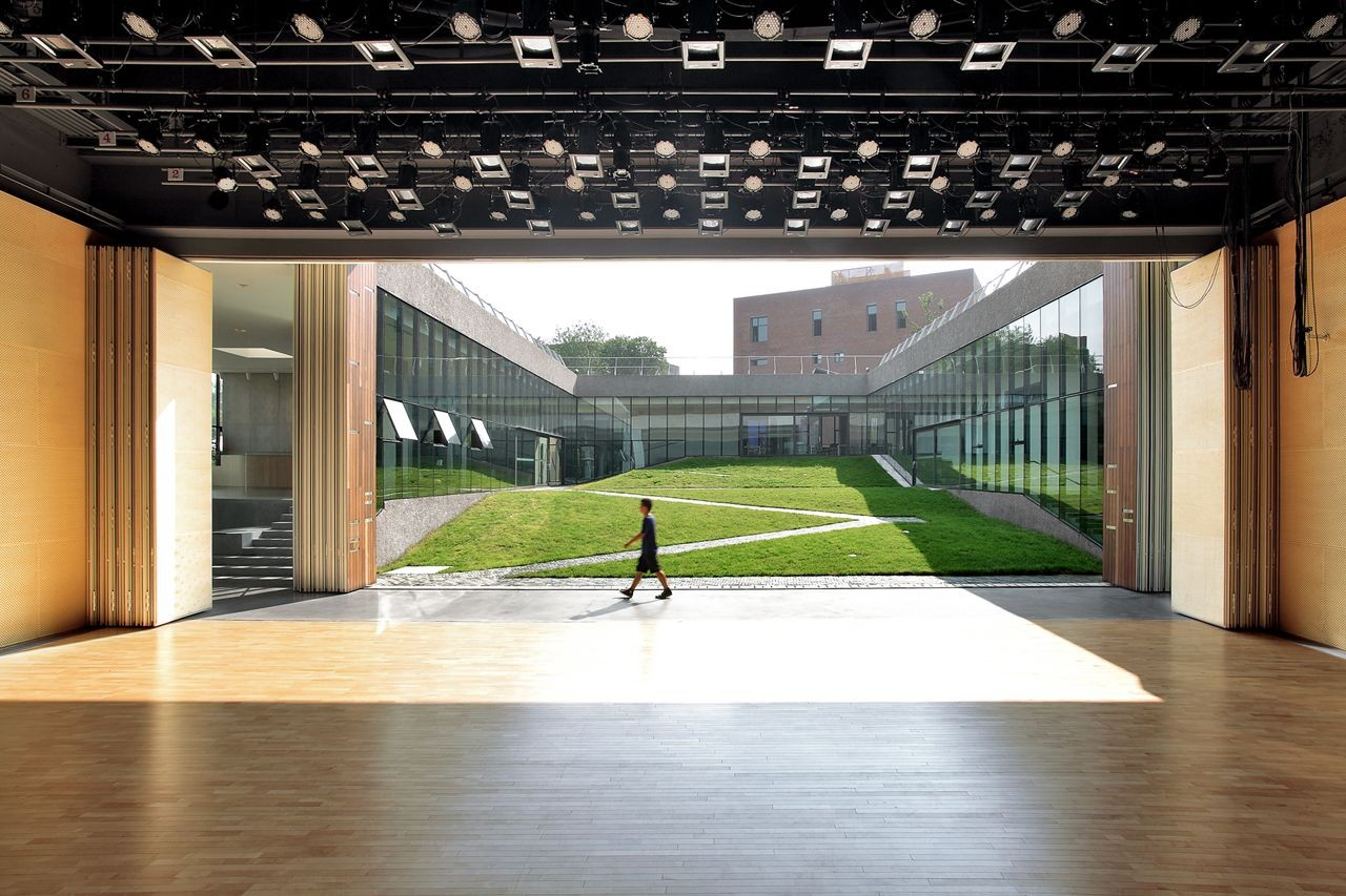 Gehua Youth And Cultural Center Open Architecture