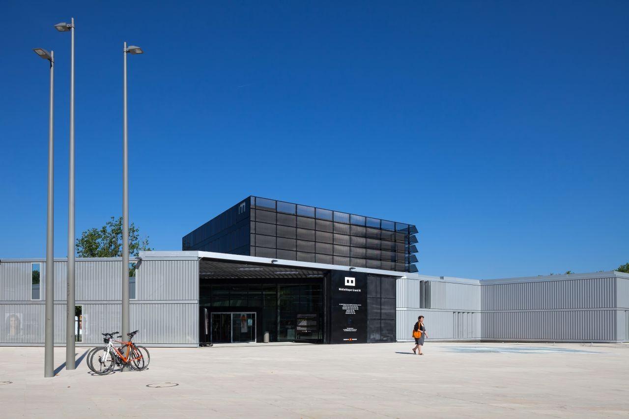 Médiathèque grand M / Atelier d'architecture King Kong, © Arthur Péquin