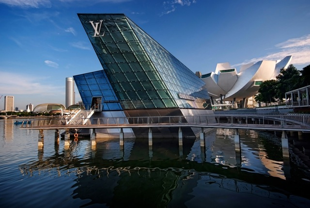 Louis Vuitton in Singapore / FTL Design Engineering Studio, © William Cho