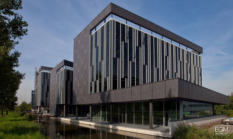 GouweZone CO2 Free Offices / EGM architecten, Courtesy of EGM architecten