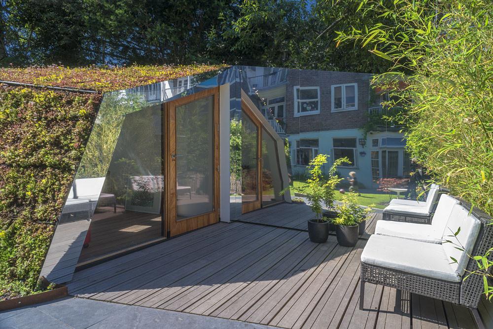 Garden studio in Amsterdam Watergraafsmeer / CC-Studio, © John Lewis Marshall