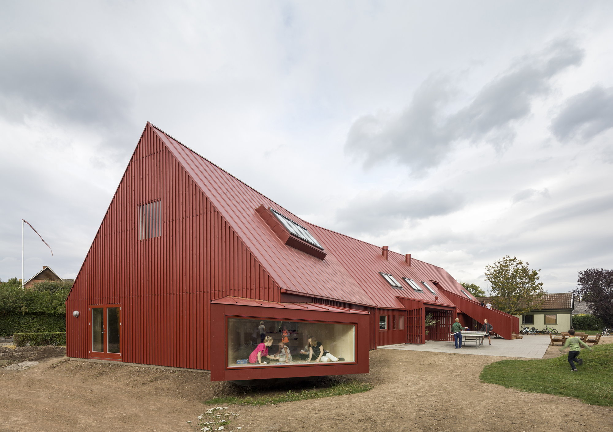 Youth Centre in Roskilde / Cornelius + Vöge, © Adam Mørk
