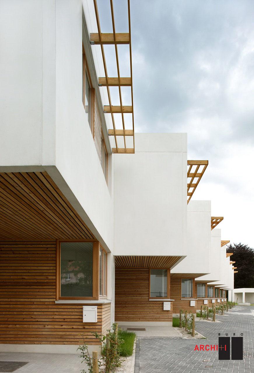 St-Agatha-Berchem Sustainable Social Housing / Buro II & Archi+I