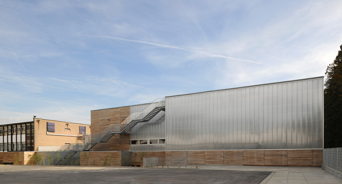 Ecole Itp A229 Archdaily