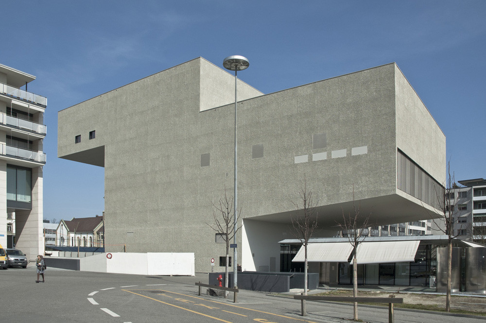 New theater equilibre d rig ag archdaily for Architecture equilibre