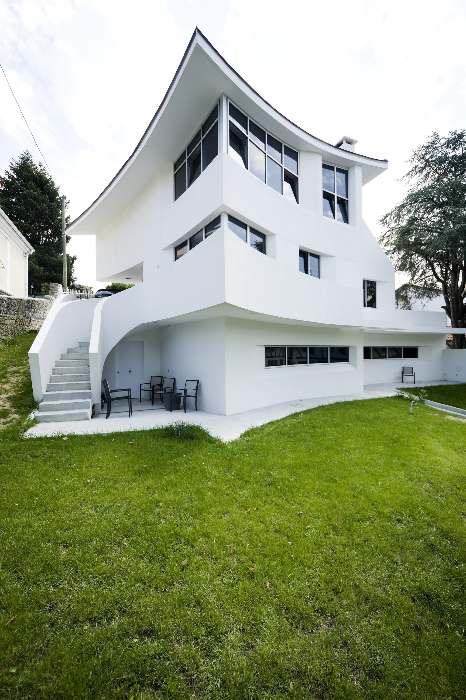 """Casa ARB / Arana+Bereziartua Arquitectura, © Santonja / Cubas, fym Ital group cementi"""""""