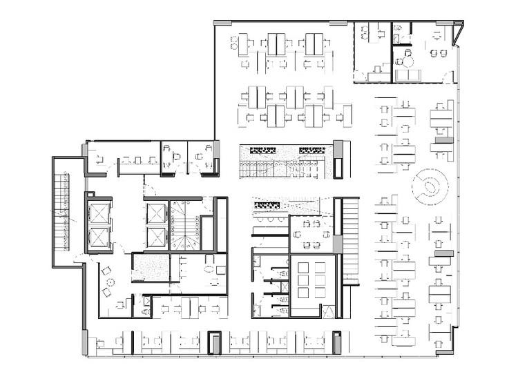 Oficinas jwt aei arquitectura e interiores archdaily for Oficinas de arquitectura