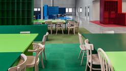 Social 01 / i29 l interior architects + VMX Architects
