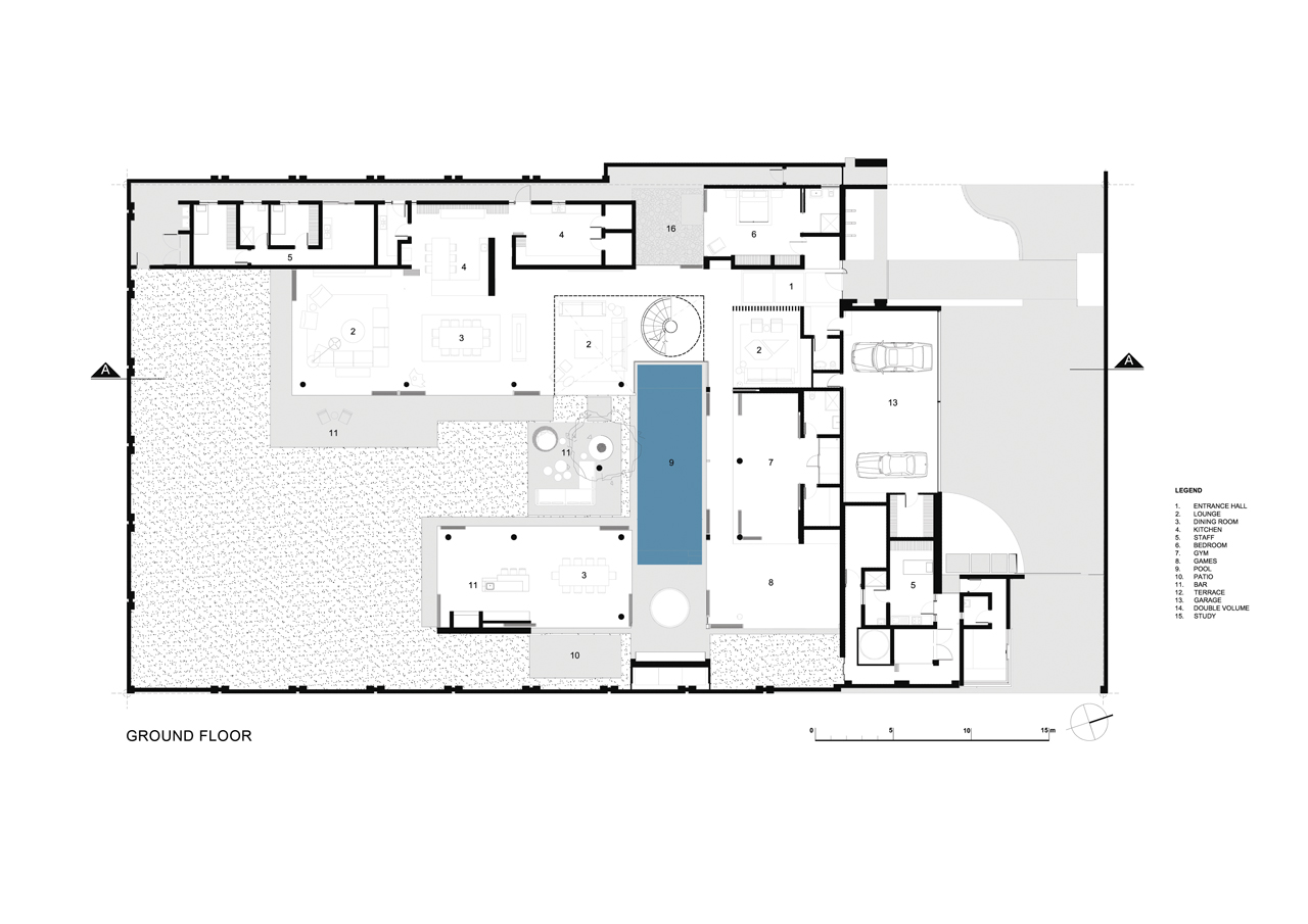 house plans by architects gallery of 6th 1448 houghton zm saota 21 18497