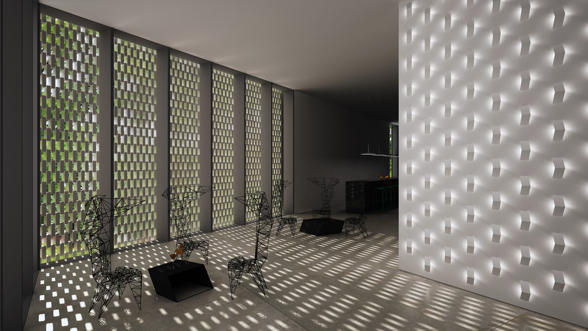 Premiación CREA AWARDS 2012 por Vibia, PRIMER LUGAR: la ventana óptica por Smart Metropolitans