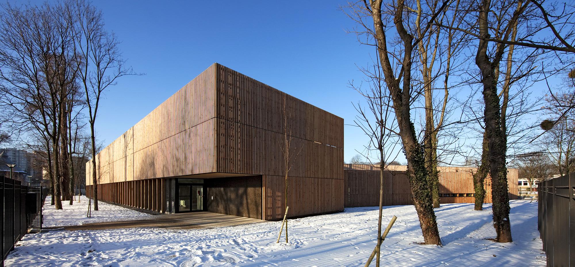 Ecole Maternelle La Venelle / Gaetan Le Penhuel Architectes, © Hervé Abbadie