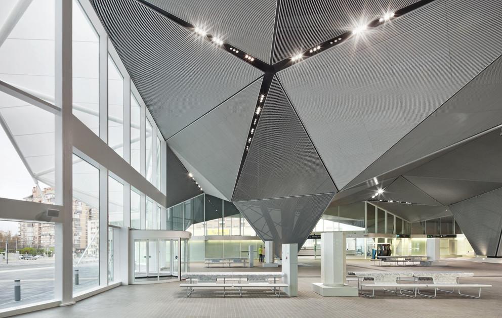 High speed train station in logro o balos sentkiewicz - Arquitectos logrono ...